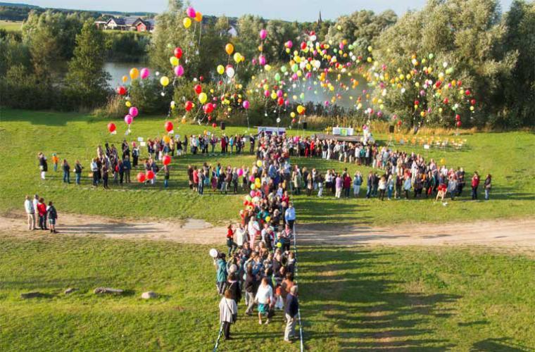 Diakonie Allgemein Ballonbild Heike Köhler